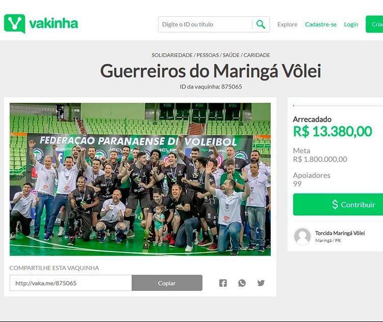 Por conta da crise, sete atletas já deixaram o Maringá Vôlei