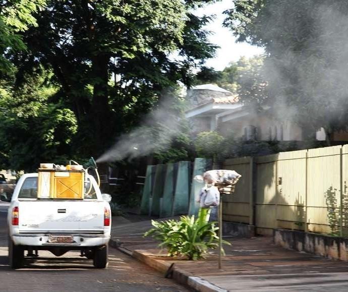 Maringá: 43 bairros vão receber fumacê contra a dengue
