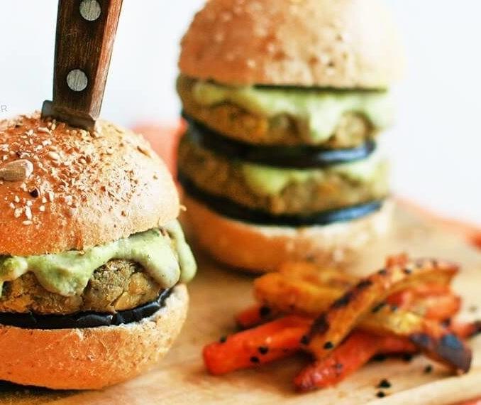 Como é um hamburguer vegano?