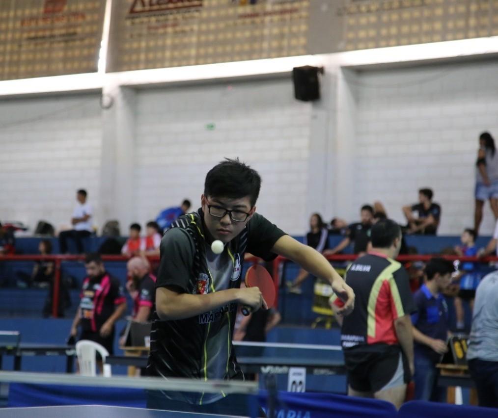 Equipe de tênis de mesa conquista 20 medalhas no Campeonato Paranaense