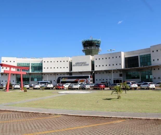 Aeroporto de Maringá terá apenas um voo semanal por conta da Covid-19