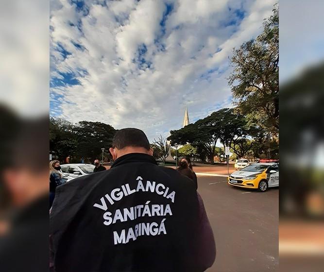 No fim de semana, 52 estabelecimentos são fechados em Maringá após descumprirem decretos