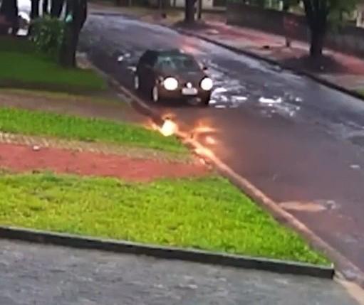 Polícia tenta identificar placa de carro que abandonou bebê em Cidade Gaúcha