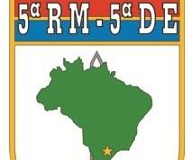 Processo seletivo da 5ª. Região Militar do Paraná