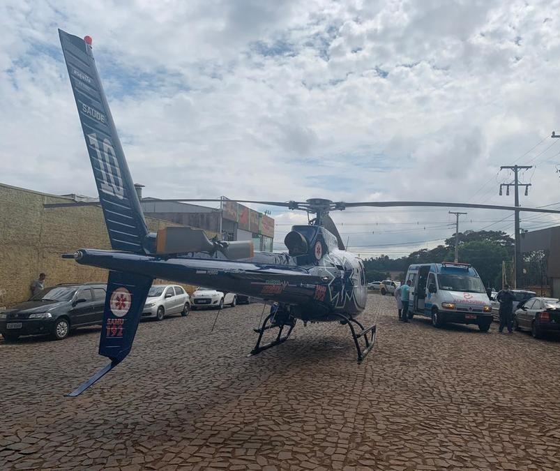 Trabalhador é gravemente ferido por equipamento agrícola em Maringá