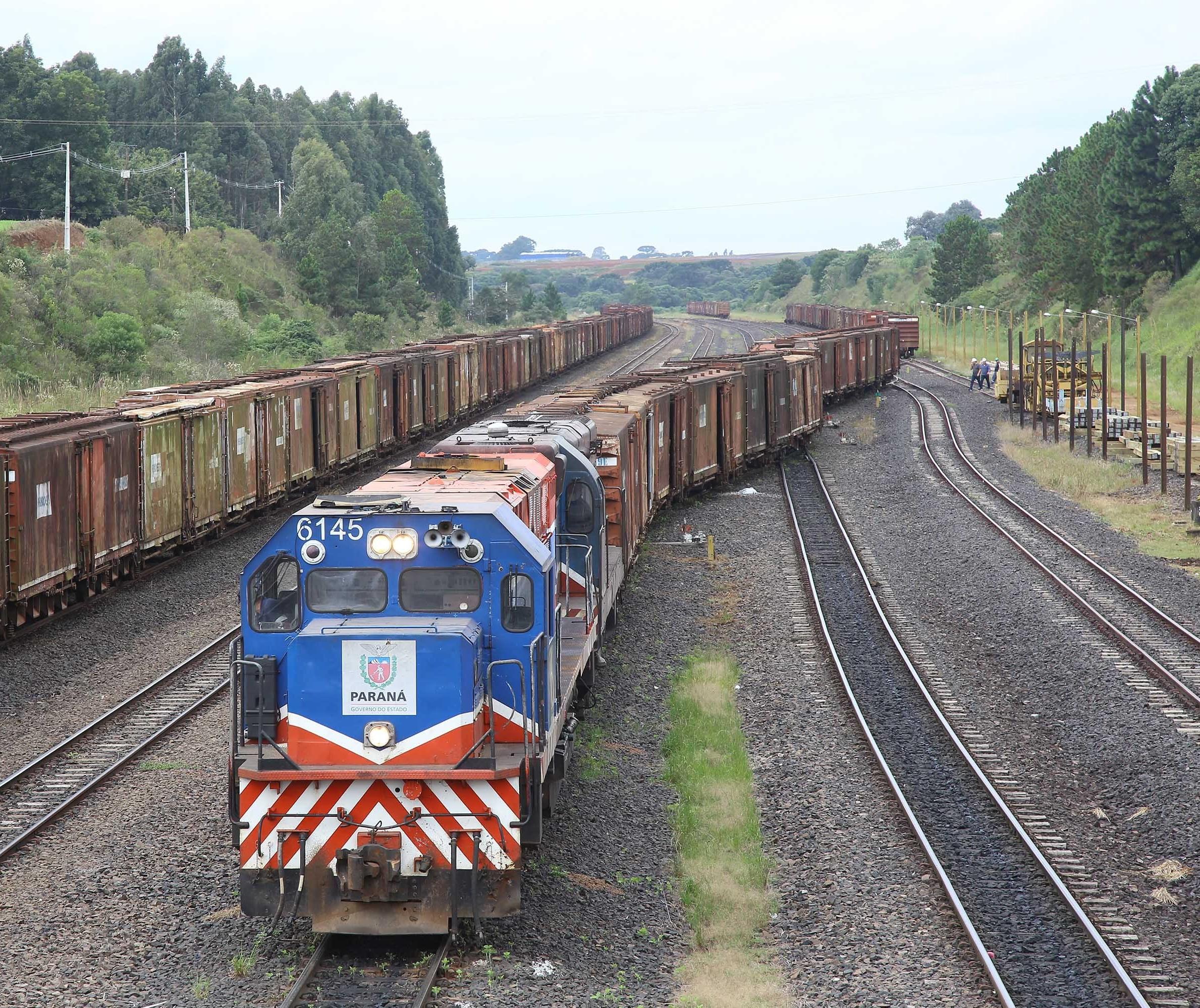 Estrada de Ferro Paraná Oeste é qualificada em programa de concessões