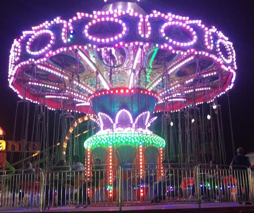 Chapéu Mexicano é uma das novidades do parque de diversões