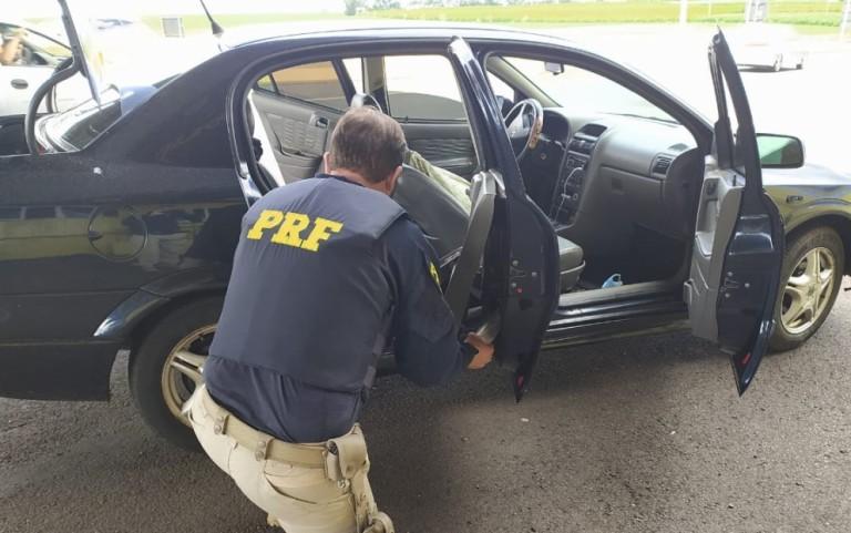 PRF apreende pasta base de cocaína