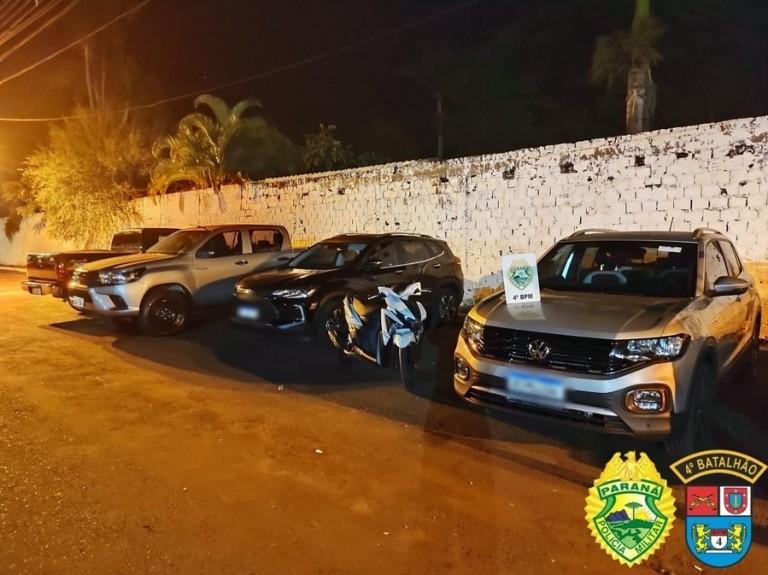 Polícia Militar prende quadrilha que furtava veículos em Maringá e região