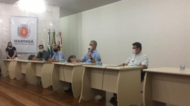 Em reunião, lideranças propõem medidas para conter coronavírus