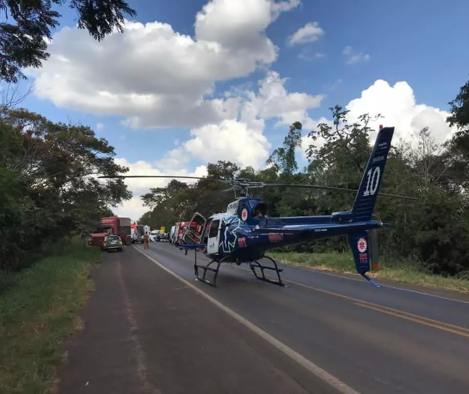 Motorista morre em acidente grave na PR-323
