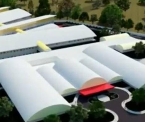 Esperada para concluir este ano, obra do Hospital da Criança pode terminar em 2021