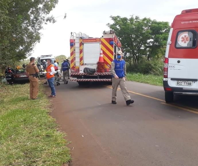 Acidente em rodovia com risco de explosão mobiliza equipes de Saúde