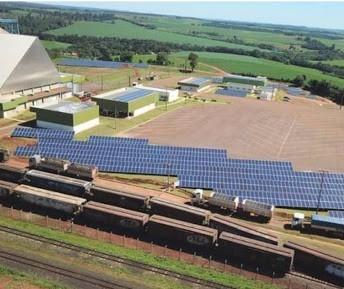 Maior usina de energia solar do Paraná é de cooperativa