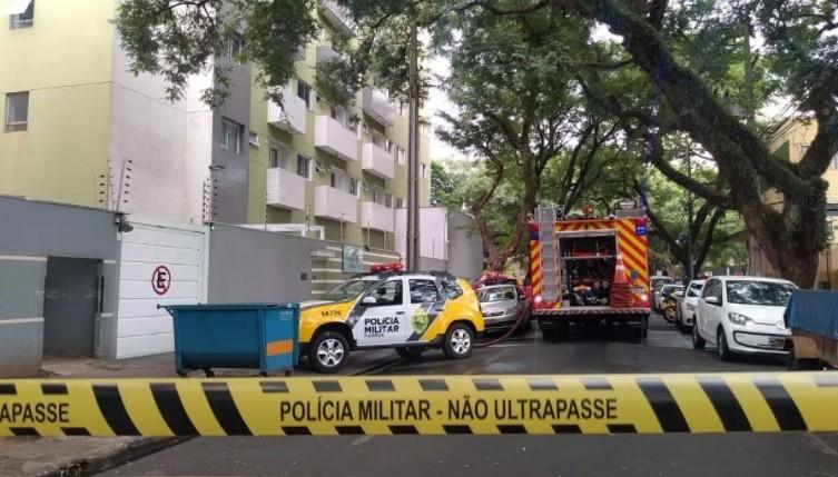 Briga de casal que terminou em incêndio em Maringá começou por dinheiro, diz polícia