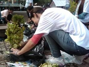 Mais de 80 estudantes mobilizam a população com atividades comemorativas ao Dia Mundial do Meio Ambiente