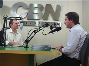 Quinteiro sustenta que será candidato a prefeito se tiver orientação do governador Beto Richa