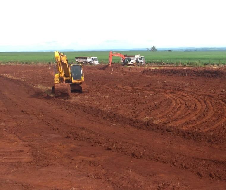 Após duas semanas paradas, obras no aeroporto são retomadas em Maringá