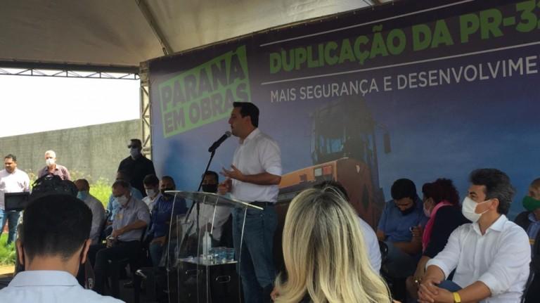 Primeiros 10 km da duplicação da PR-323 entre Paiçandu e Doutor Camargo são entregues