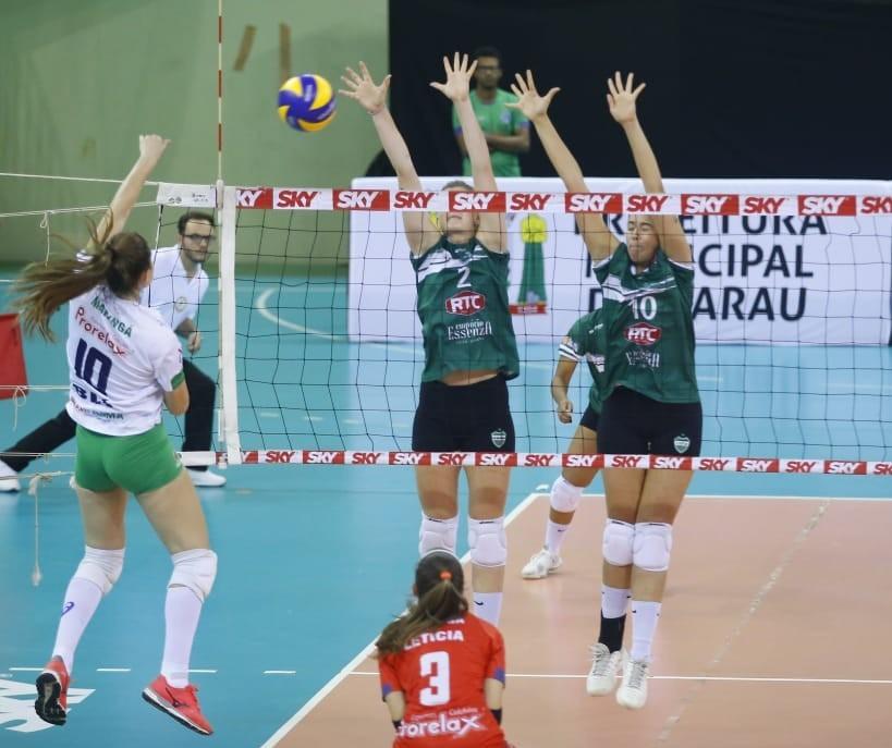 Equipe feminina Amavolei/Maringá está na semifinal da Superliga B