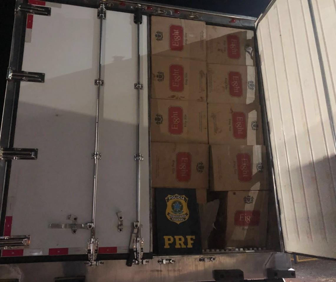 200 mil maços de cigarro contrabandeados são apreendidos na BR-369