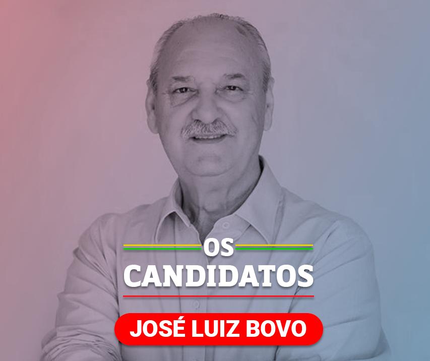 Quem é o candidato José Luiz Bovo e quais são suas propostas?
