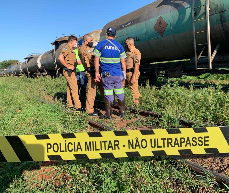 Homem é encontrado morto na linha do trem