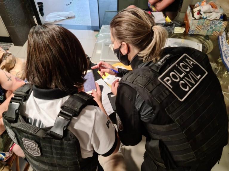 PC cumpre 128 mandados judiciais em operação contra fraudes em pontos de CNH no Paraná