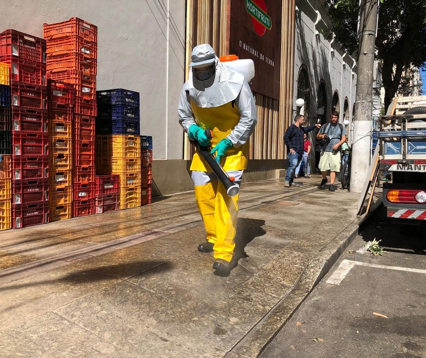 Prefeitura de Maringá contrata empresa para fazer desinfecção devido à Covid-19