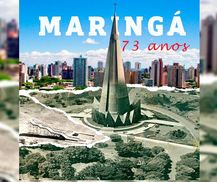 Maringá completa 73 anos! Confira 10 reportagens sobre a cidade