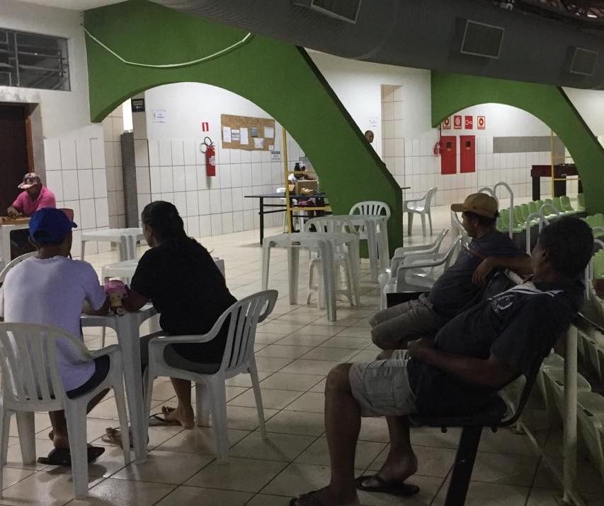 30 pessoas em situação de rua estão acolhidas no Chico Neto, em Maringá