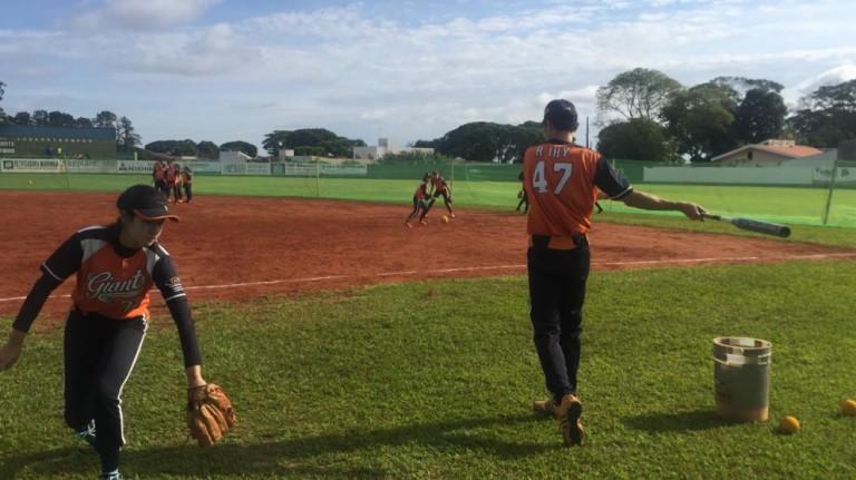Maringá é sede de campeonato nacional de softbol