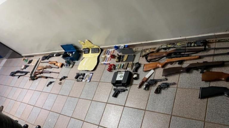 17 armas são apreendidas e cinco são presos em Astorga