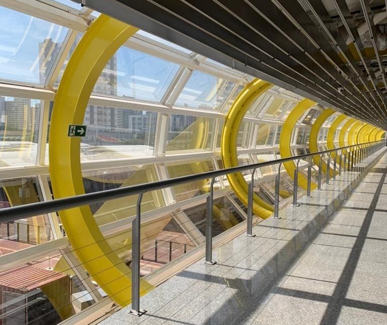 Inaugurado há quase 10 meses, 2º andar do Terminal Intermodal continua fechado