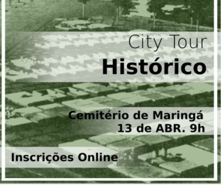 City Tour fará passeio pelo cemitério nesse sábado (13)