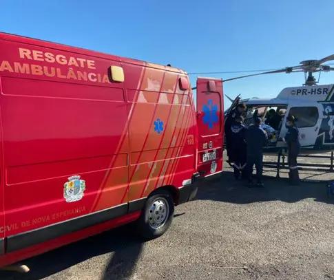 Idosa atropelada por caminhonete morre em hospital de Maringá