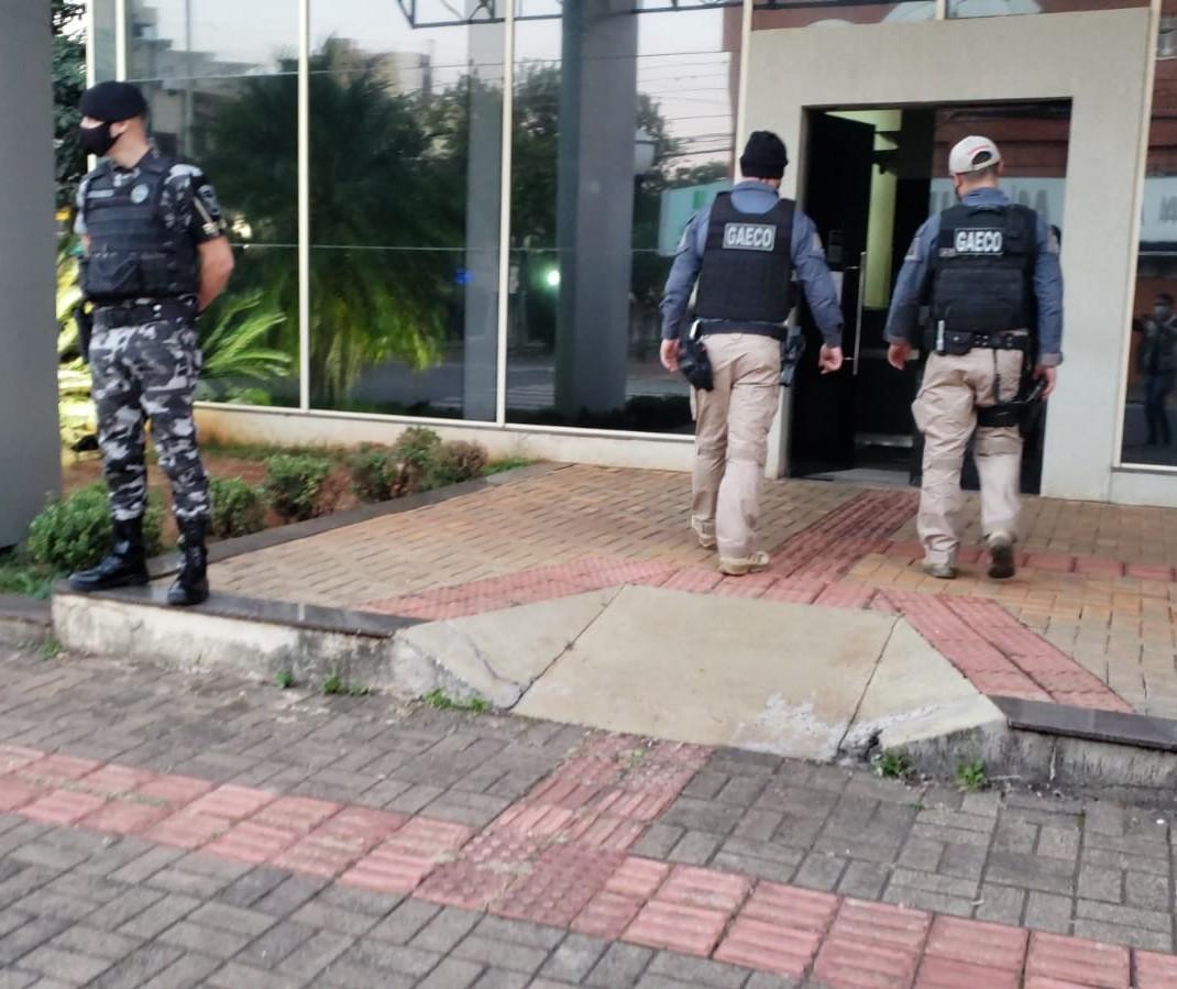 Policiais rodoviários e vereador são alvo da Operação Força e Honra do Gaeco