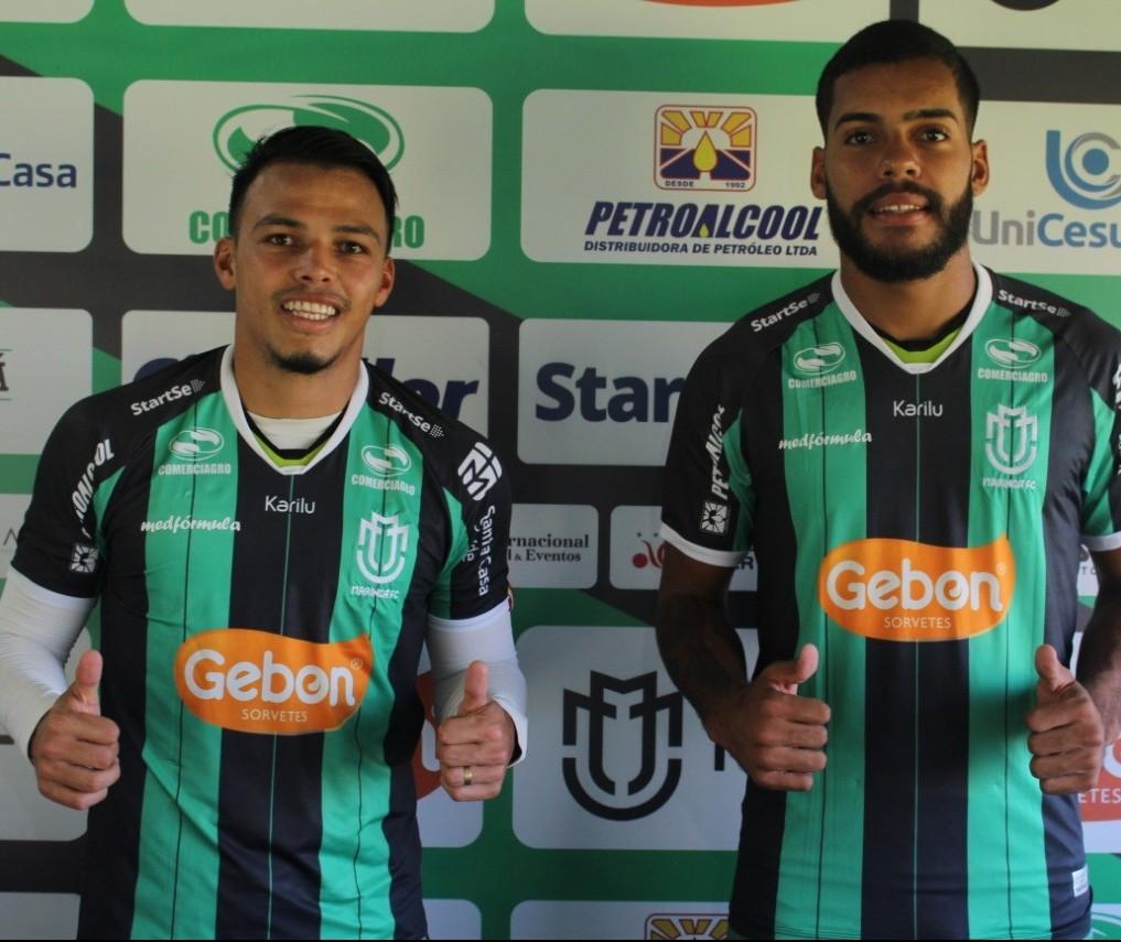 Mais dois jogadores são contratados pelo Maringá FC