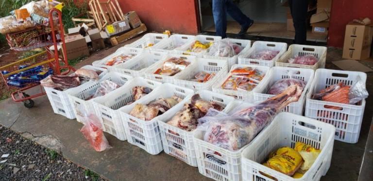 410 kg de carne vencida é apreendida em mercado de Sarandi