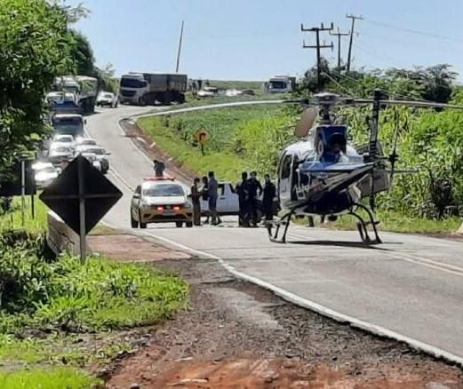 Motorista morre em acidente na PR-546 entre Floresta e Itambé