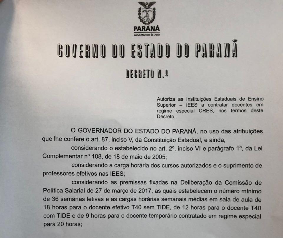 Governo revoga decreto e UEM terá 15 mil horas