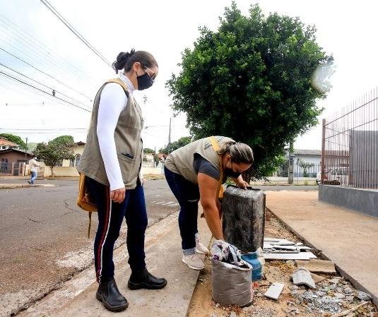 Maringá tem 54 casos ativos de dengue; limpeza é feita nos bairros com maior índice