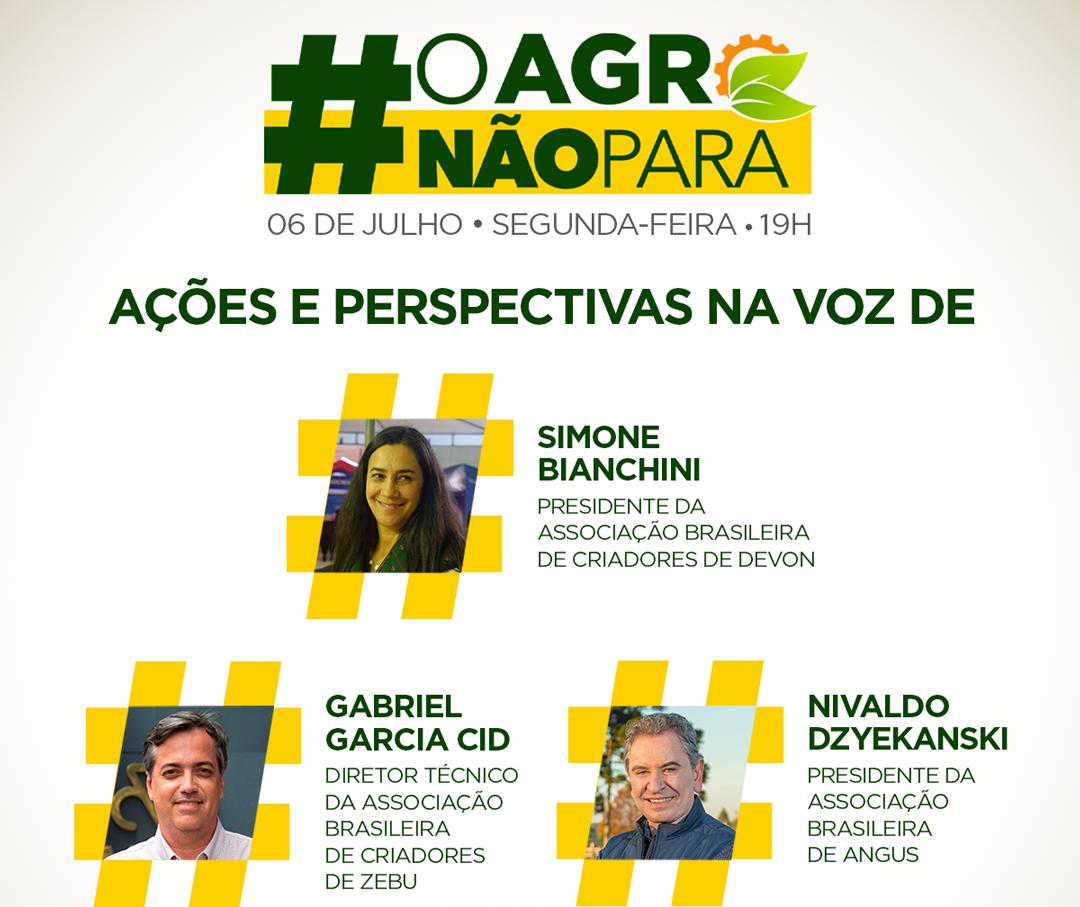 #OAGRONÃOPARA debate ações e perspectivas do setor pecuário