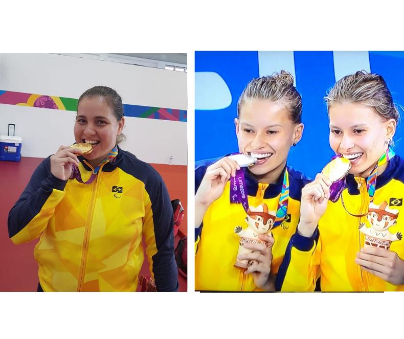 Paratletas trazem seis medalhas de Lima para Maringá
