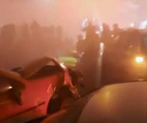 Oito pessoas morreram em engavetamento no BR-277