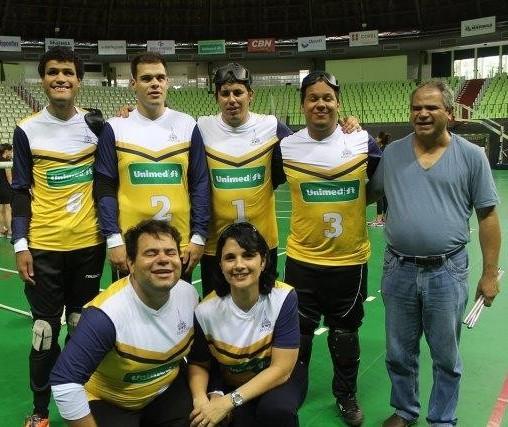Equipe maringaense se prepara para Copa Sul-Brasileira de Goalball