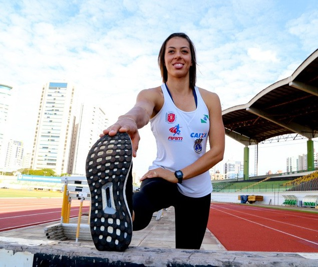 Maringaense segue rotina de treinos intensos para as Olimpíadas de Tóquio