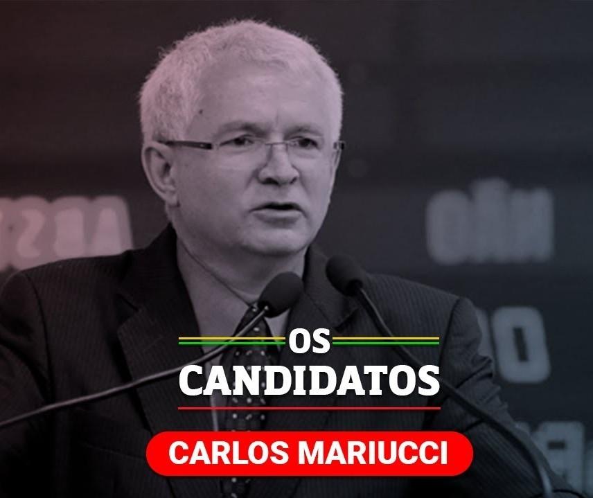 Quem é o candidato Carlos Mariucci e quais são suas propostas?