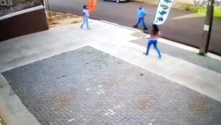Vídeo mostra cilindro de oxigênio 'voando' após explosão em Maringá