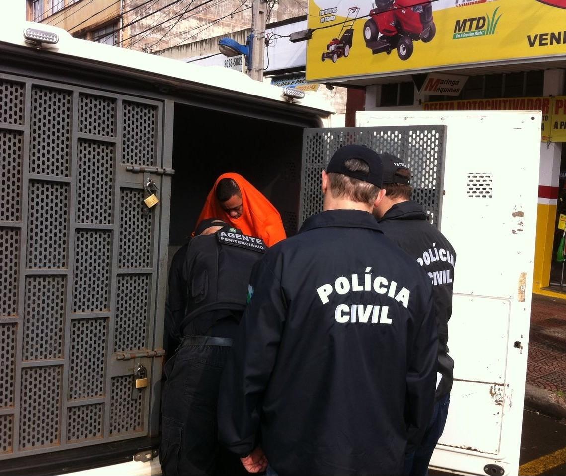 Reconstituição do assassinato em açougue é realizado em Maringá